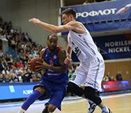 CSKA - UNICS. Game 2